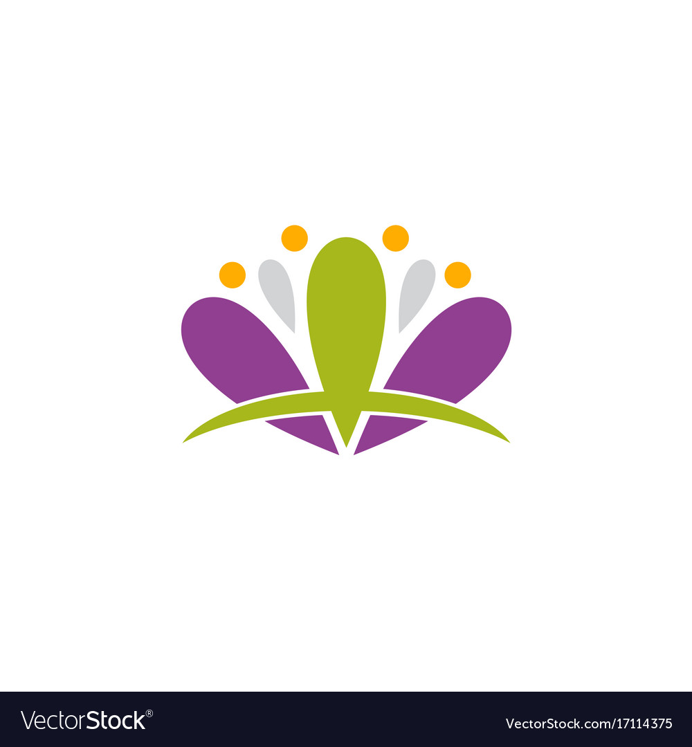 Lotus flower spa abstract logo royalty free vector image lotus flower spa abstract logo vector image izmirmasajfo