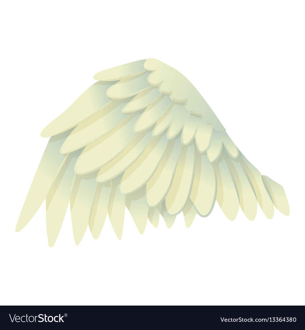 Goose wing icon cartoon style vector image