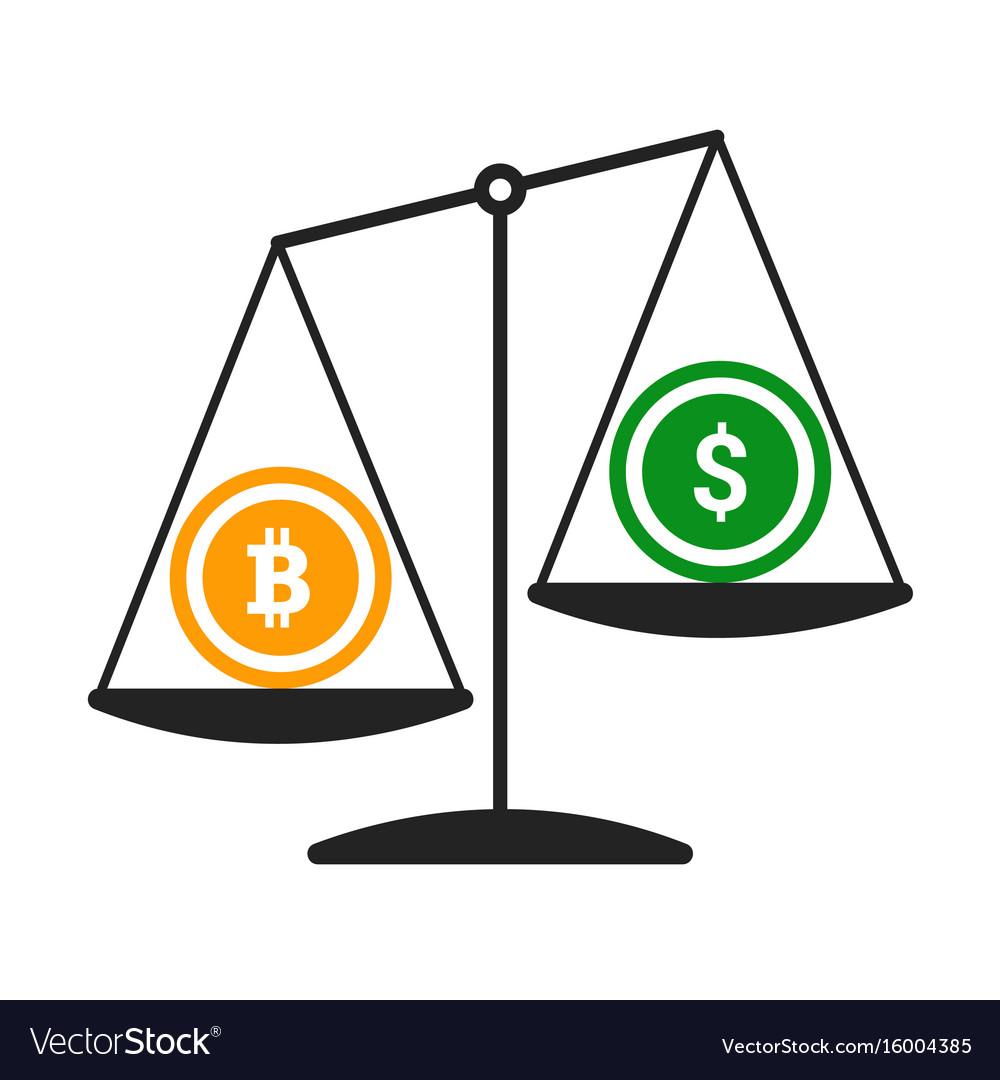 bitcoin vs a dollár)