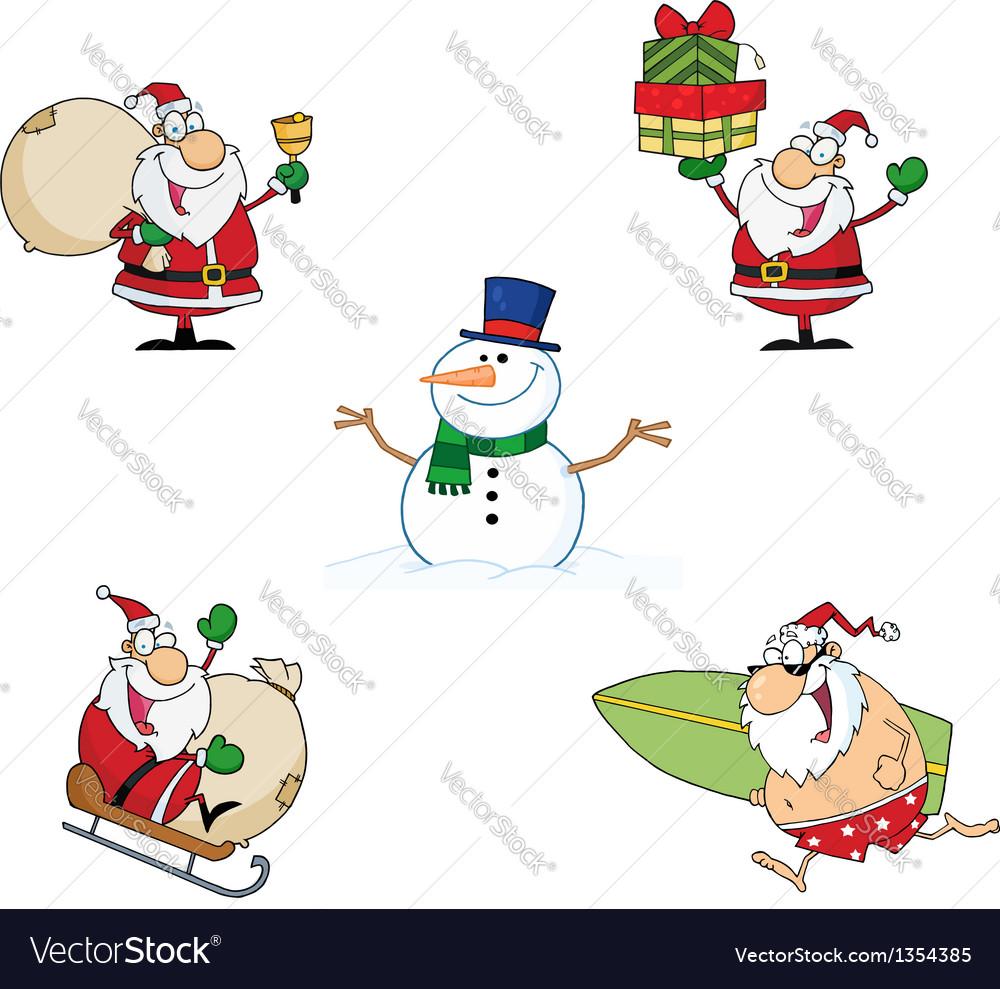 Christmas Cartoon Characters