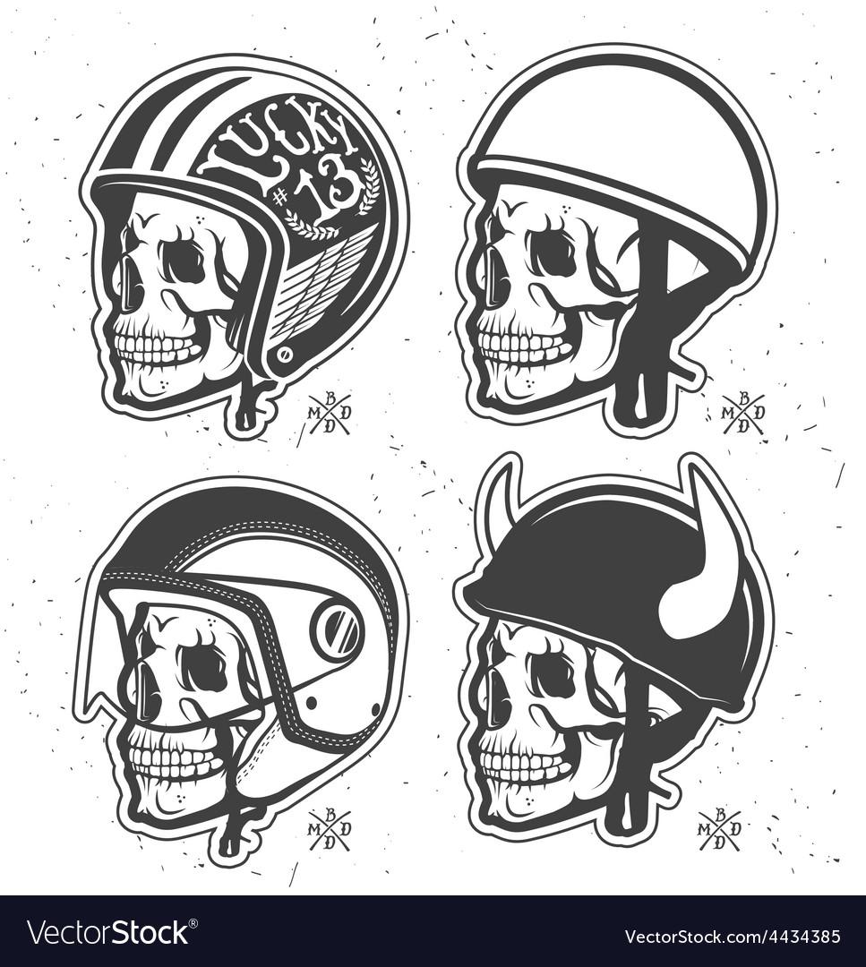 Helmets set