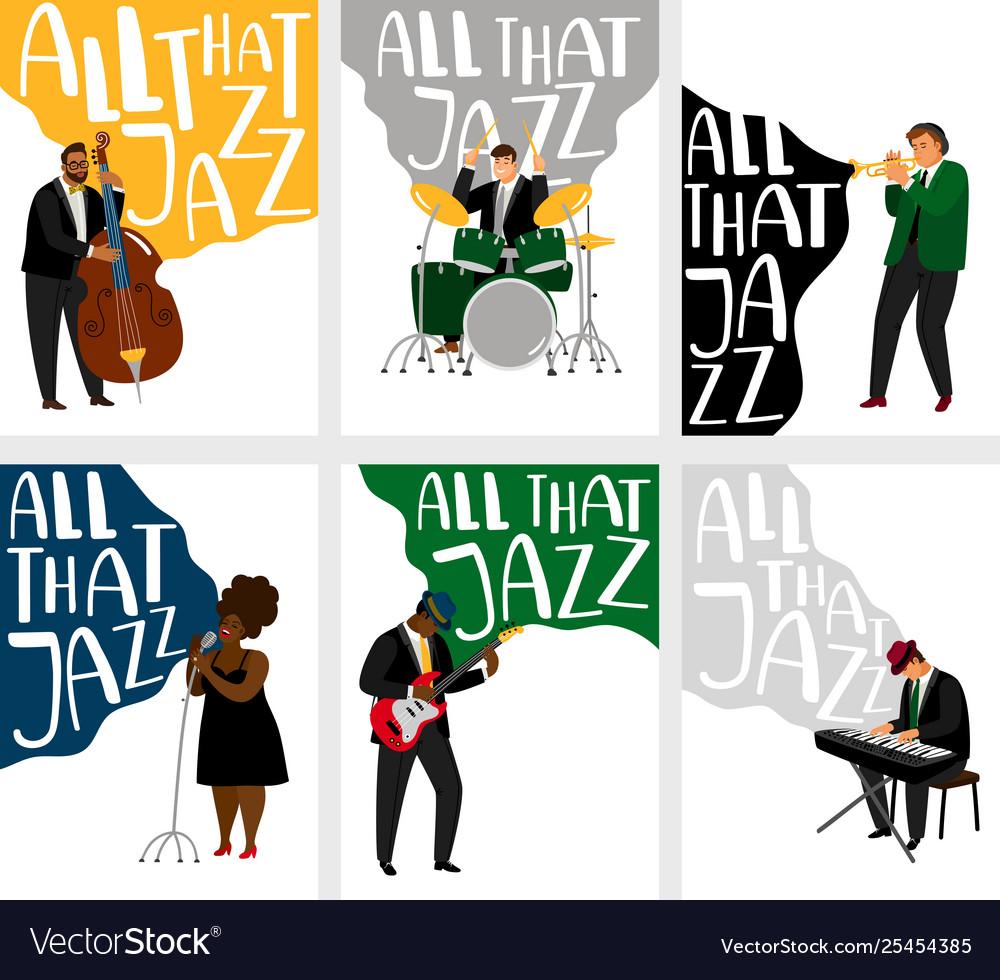 Jazz banners set
