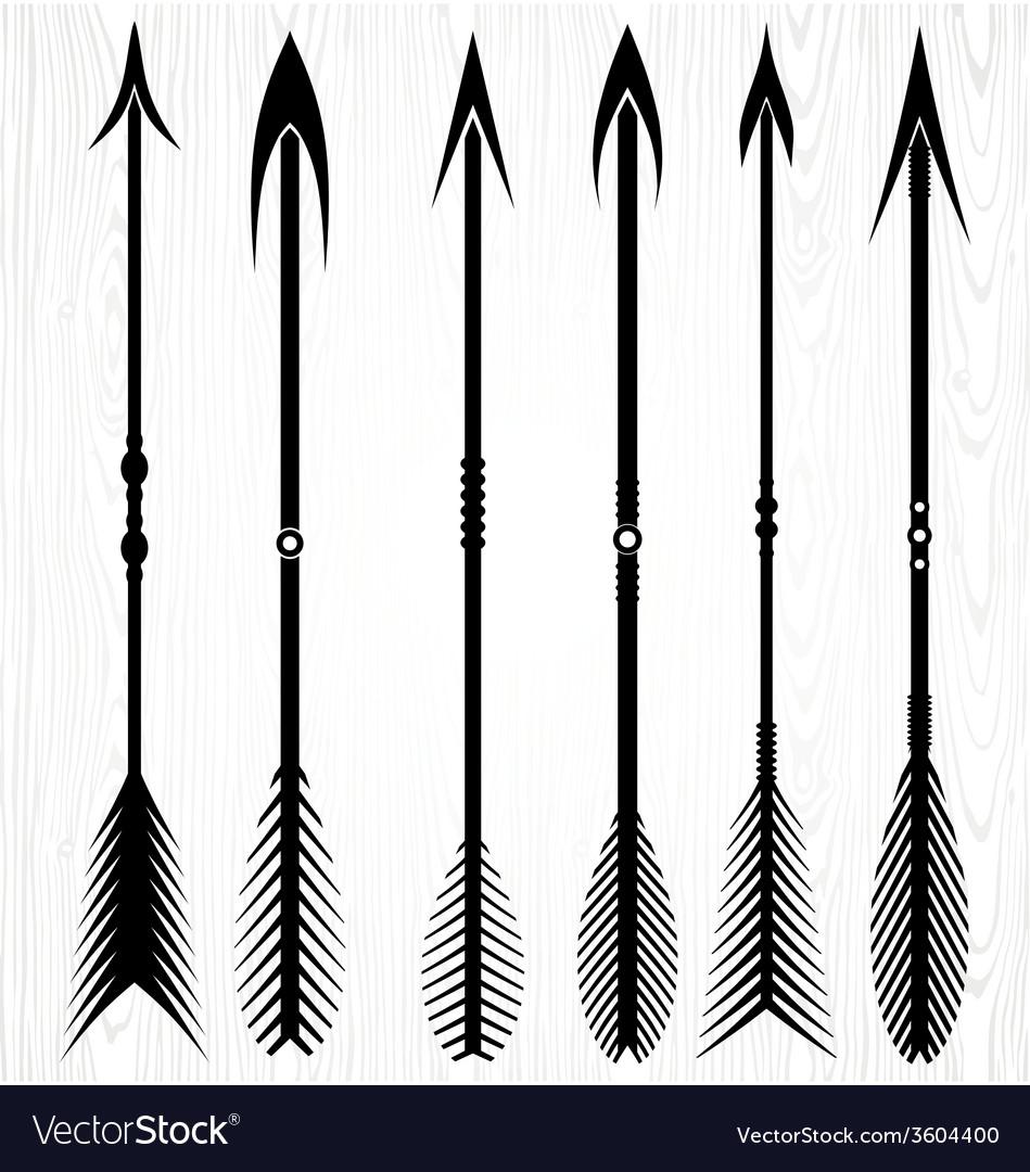 Arrow Silhouettes