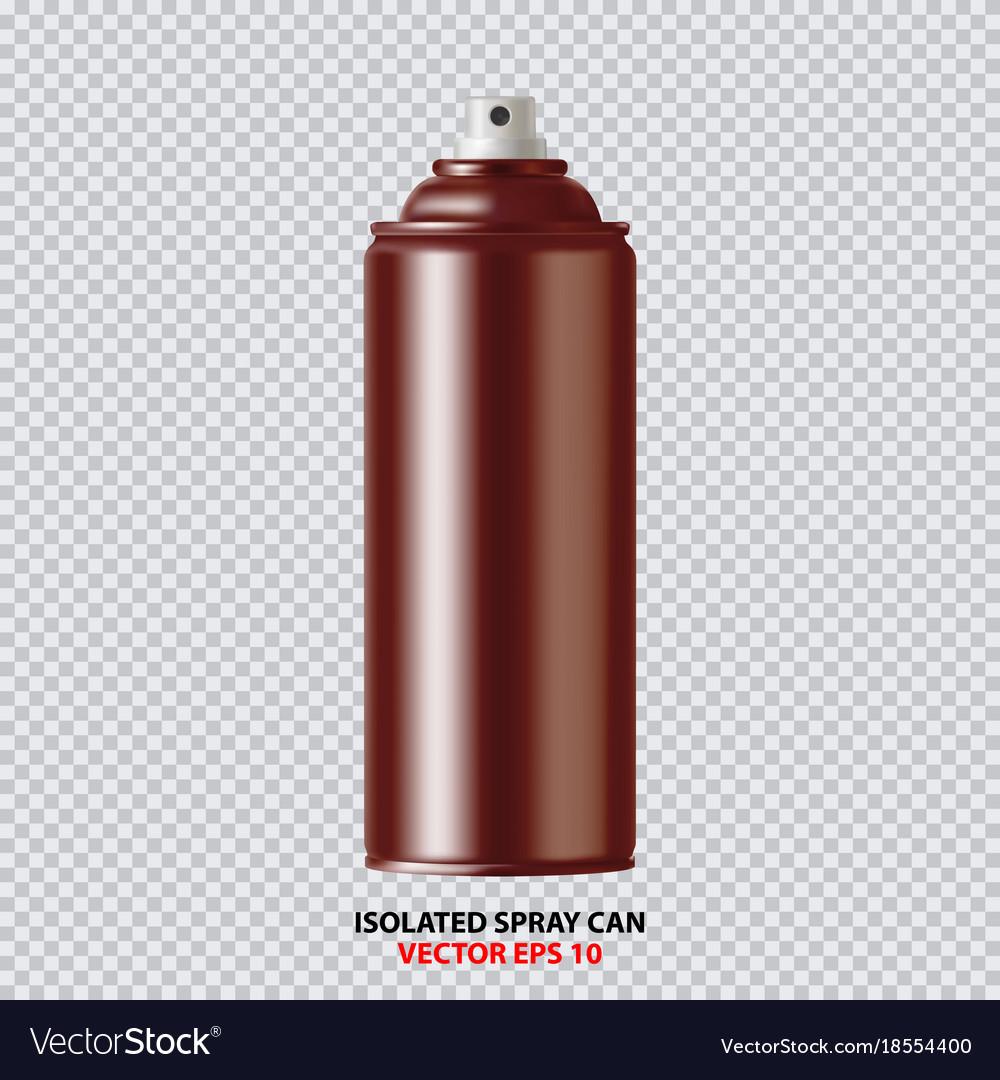 copper paint aerosol spray metal bottle can vector image rh vectorstock com graffiti spray can vector spray can cap vector