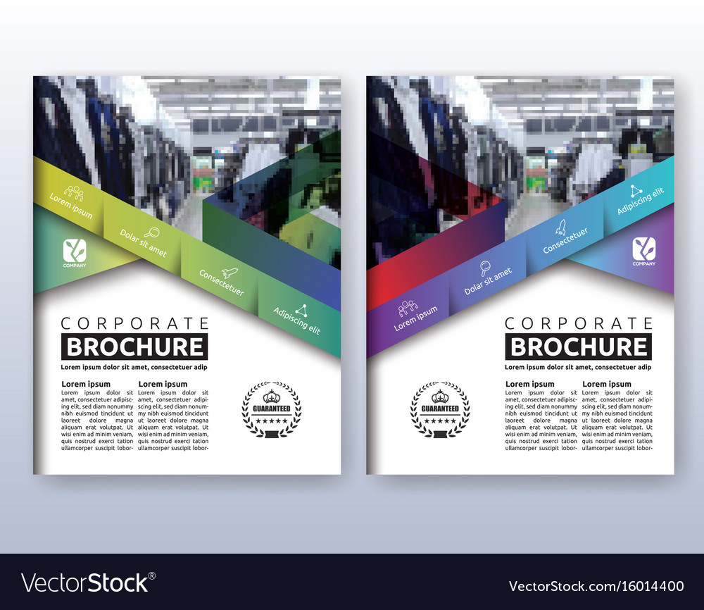 Multipurpose modern corporate business flyer vector image