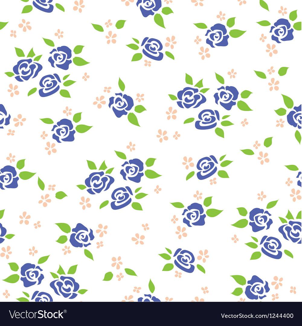 Rose pattern vector image