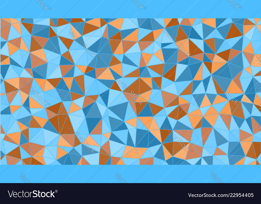 Abstract colorfull triangular pattern polygonal