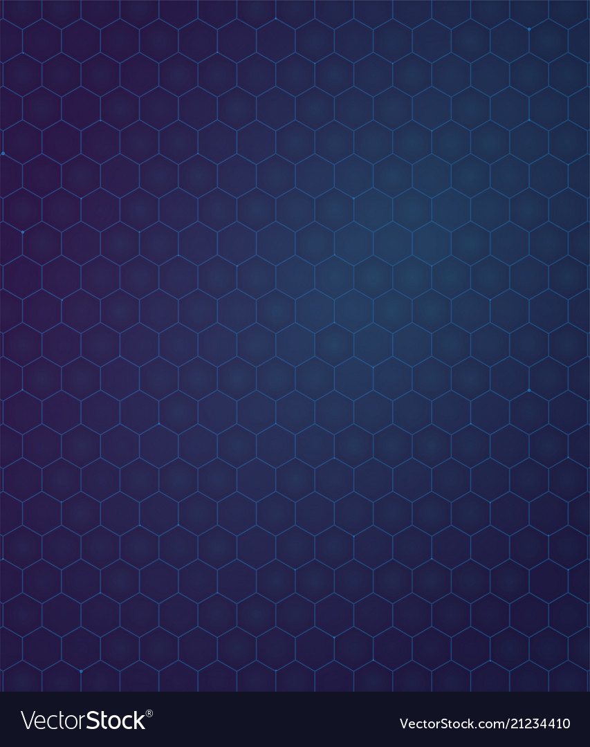 Background blue and purpule gradient hexagon
