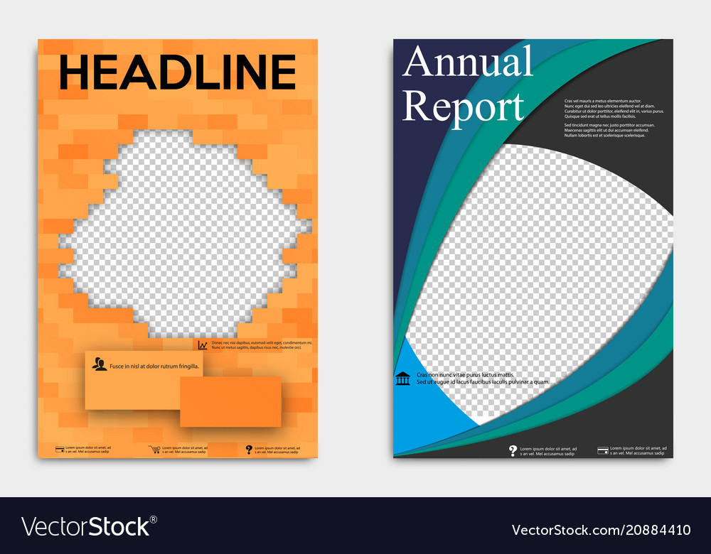 Corporate business stationery templates abstract