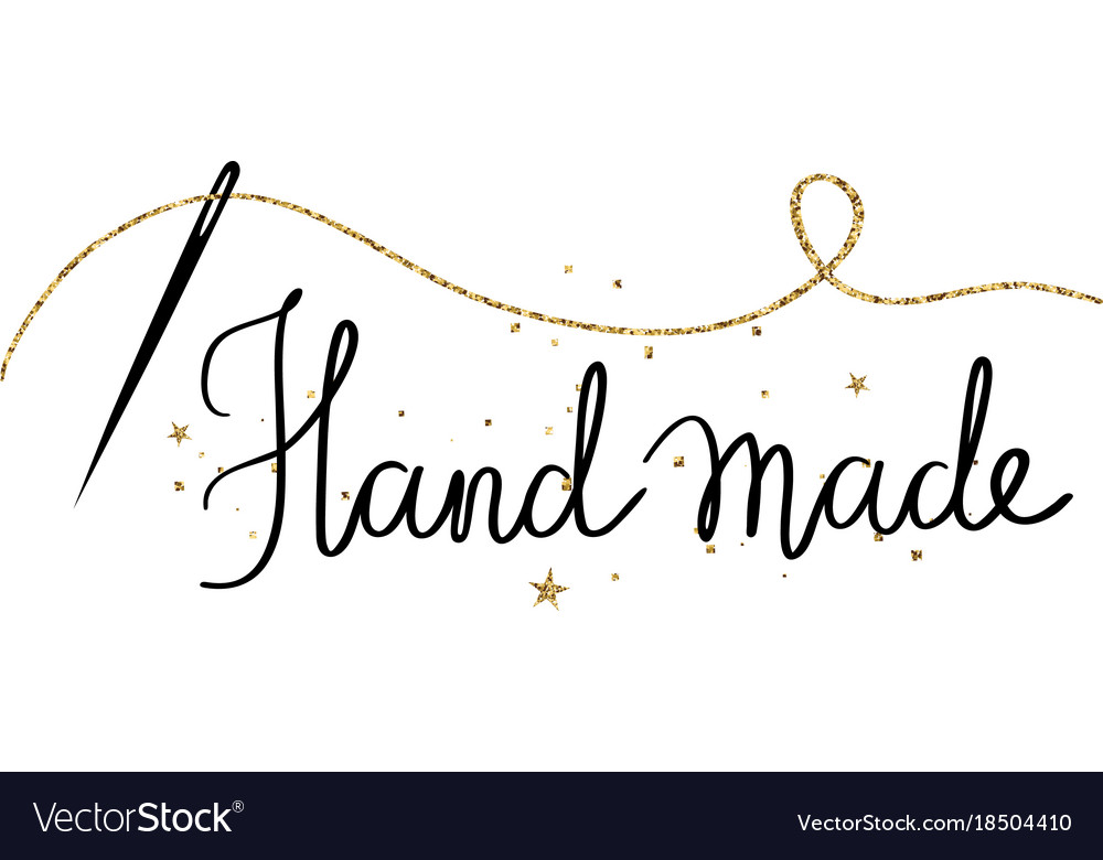Hand made -holiday hand drawn lettering
