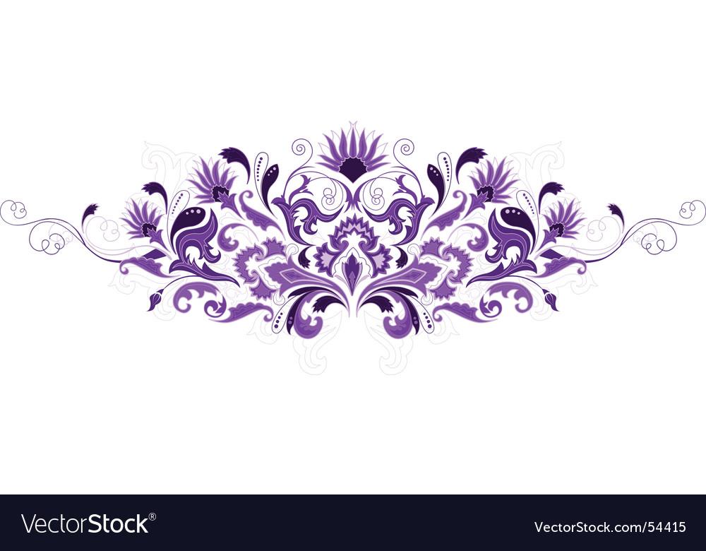 Design floral elements