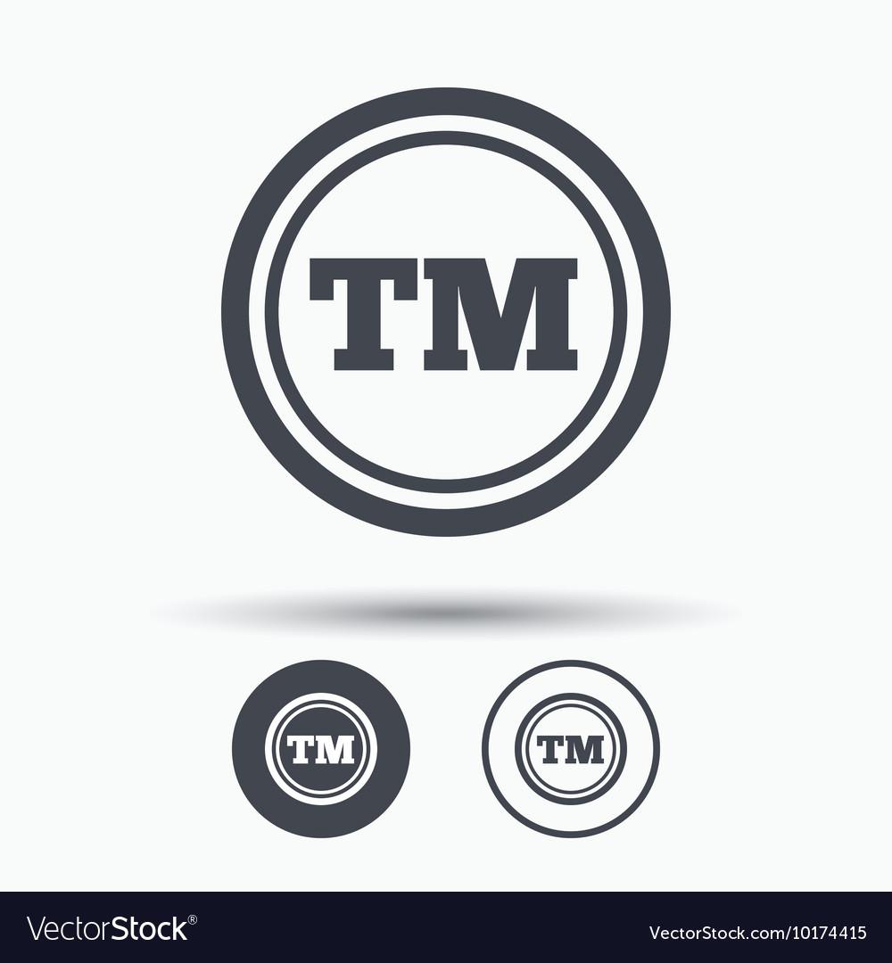 Registered TM trademark icon Intellectual work