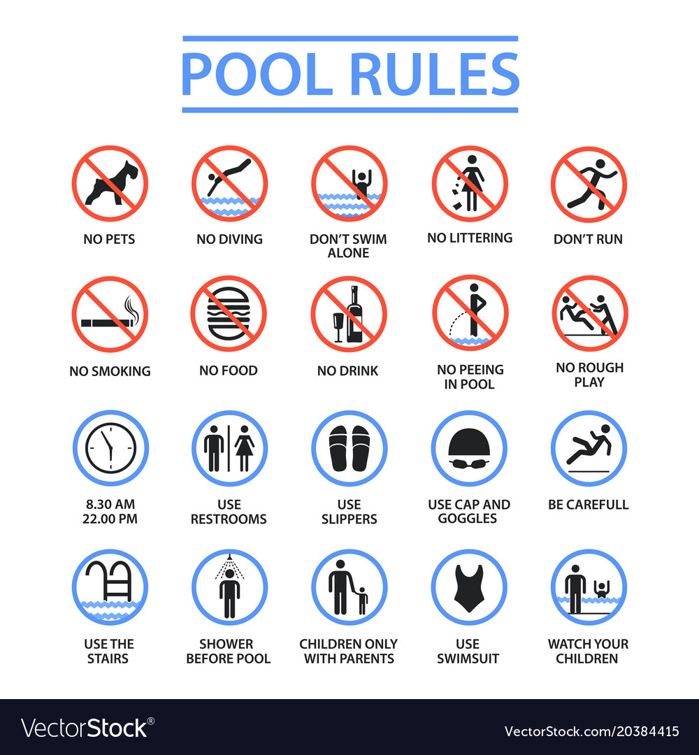 Swimming pool rules and regulations signs swimming pools in - Swimming pool rules and regulations signs ...