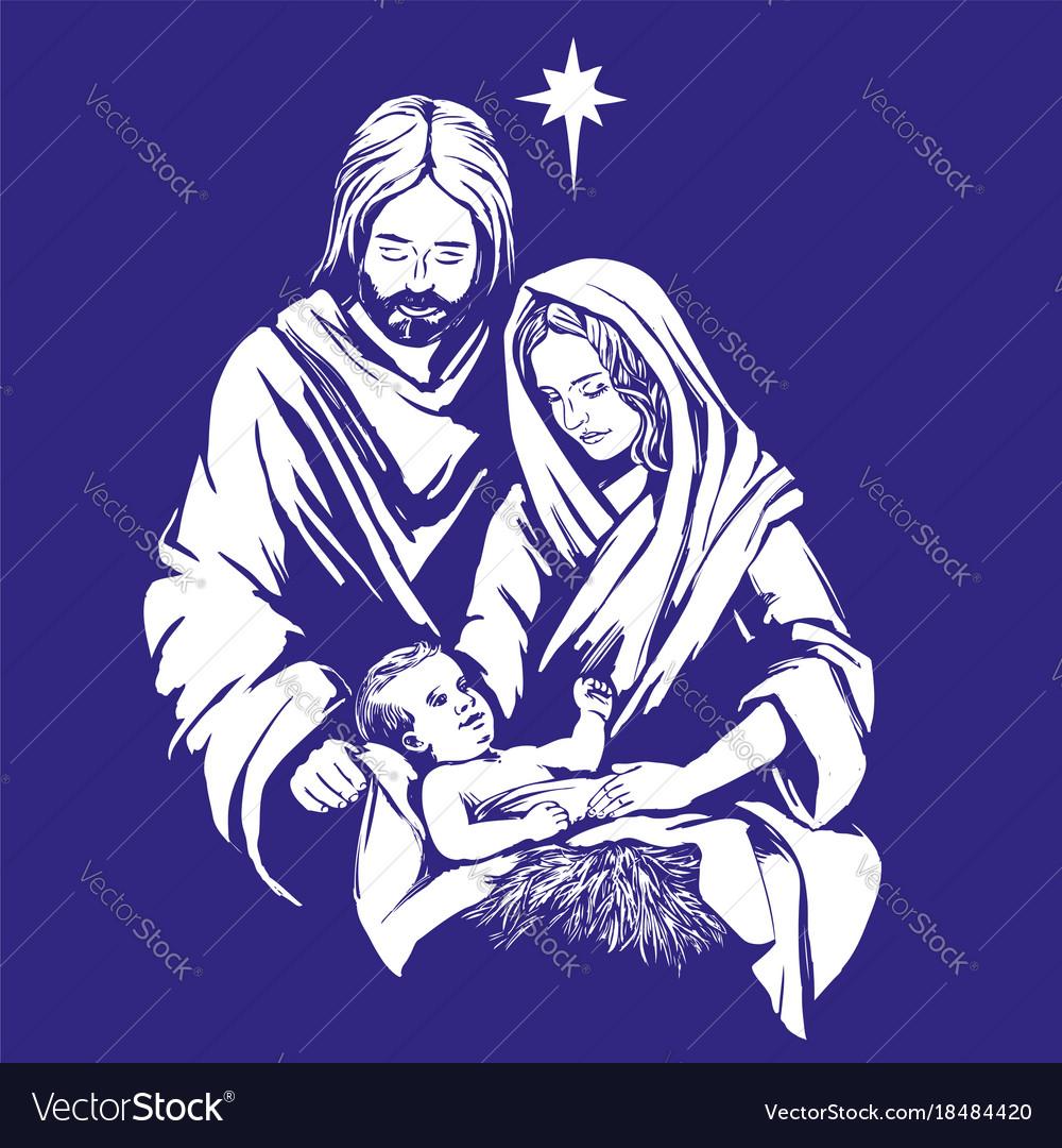 Mary catholic symbols of christmas