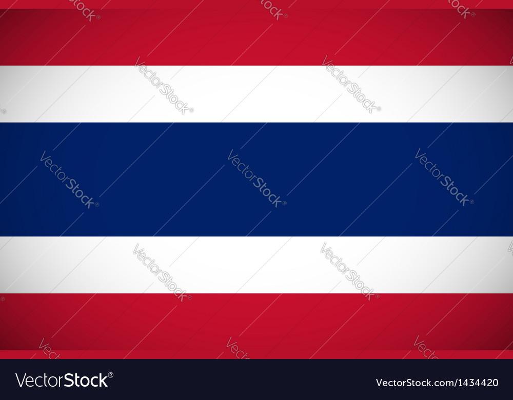 National flag thailand