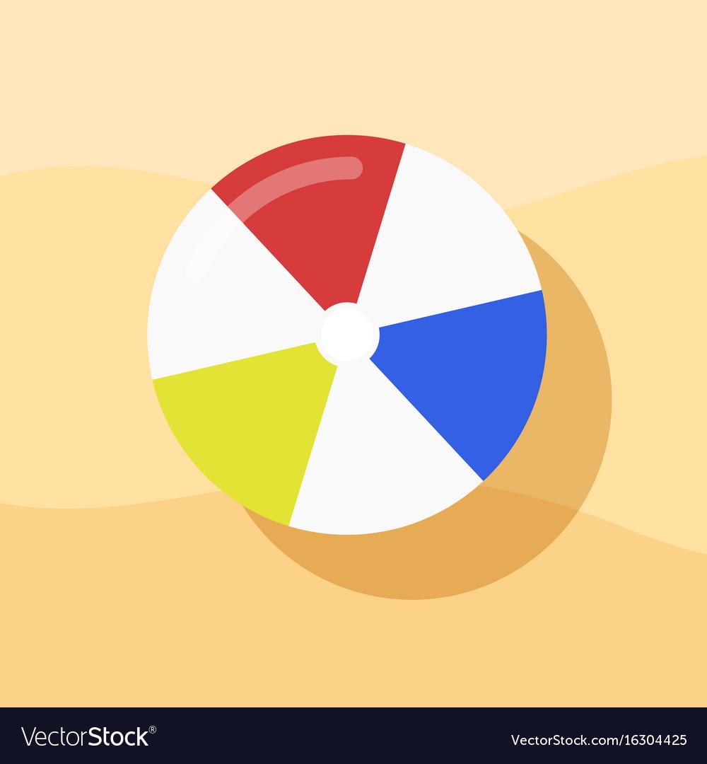 beach ball in sand. Modren Beach For Beach Ball In Sand I