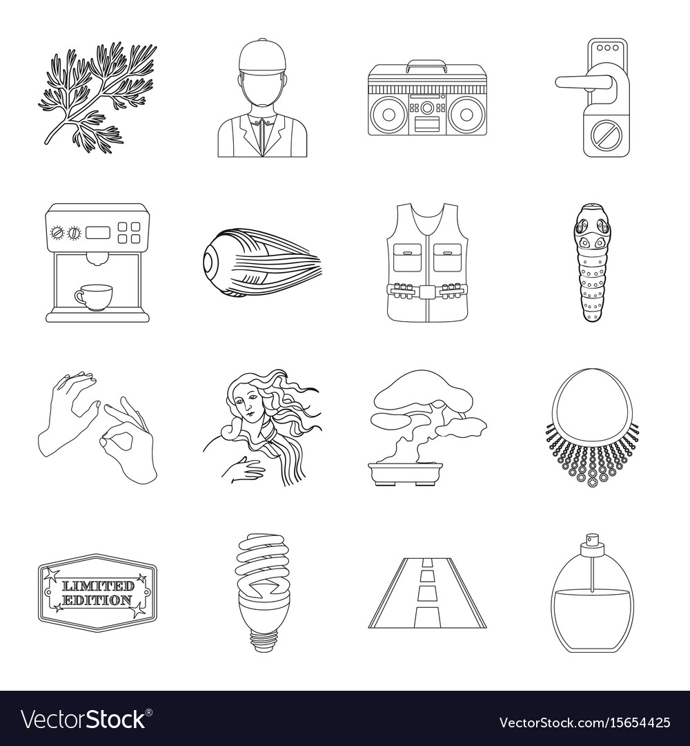 Travel transportation hunting and other web icon vector image