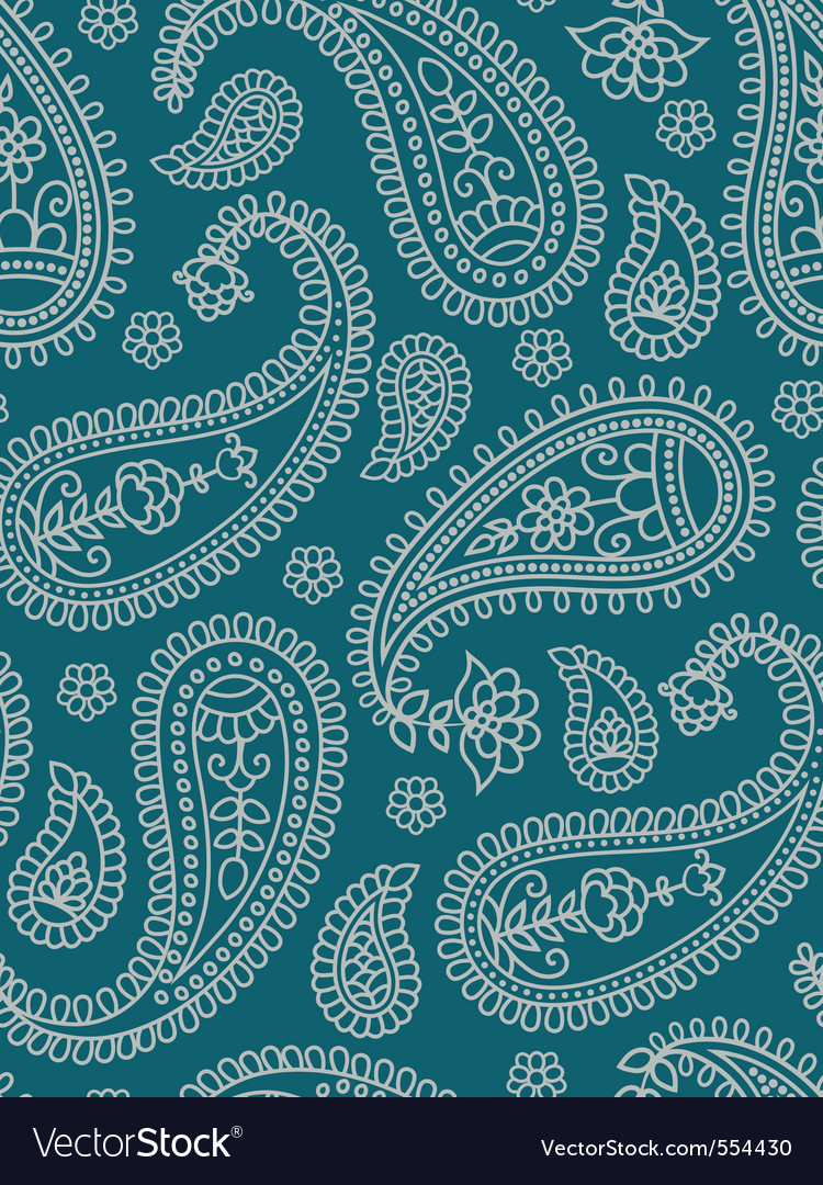 Indian pattern with paisley