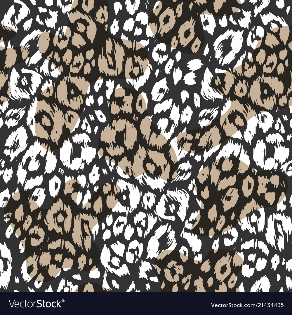 Abstract textured animal pattern