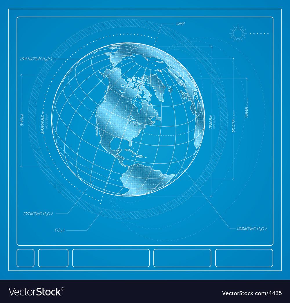 Blueprint earth