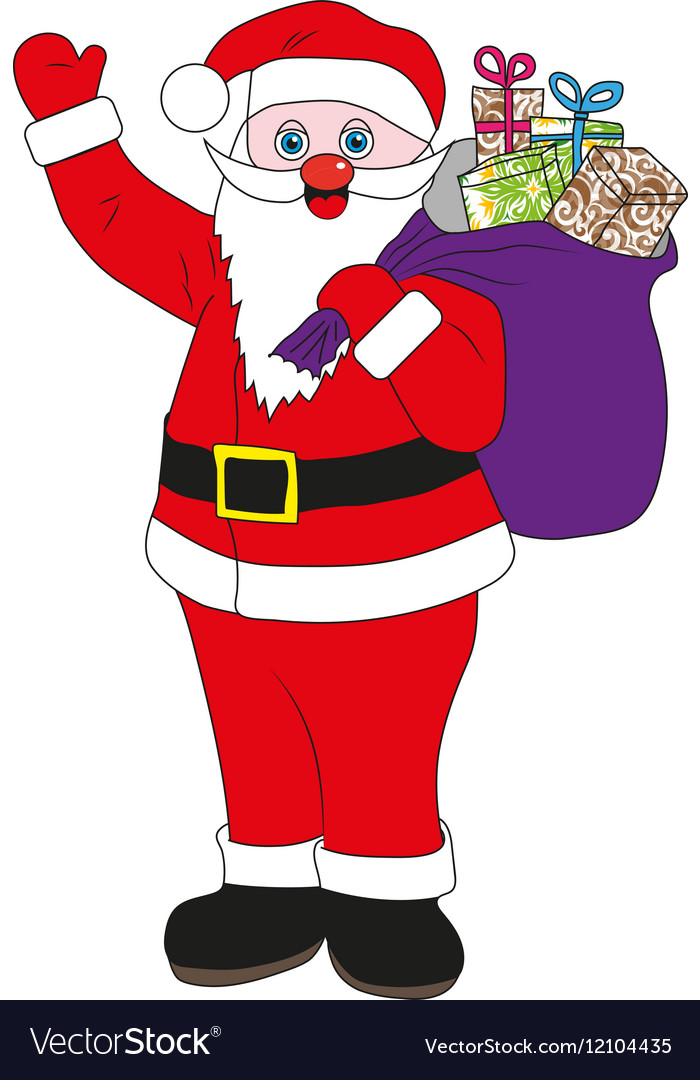 Father Christmas Images Free.Santa Claus Jolly Father Christmas