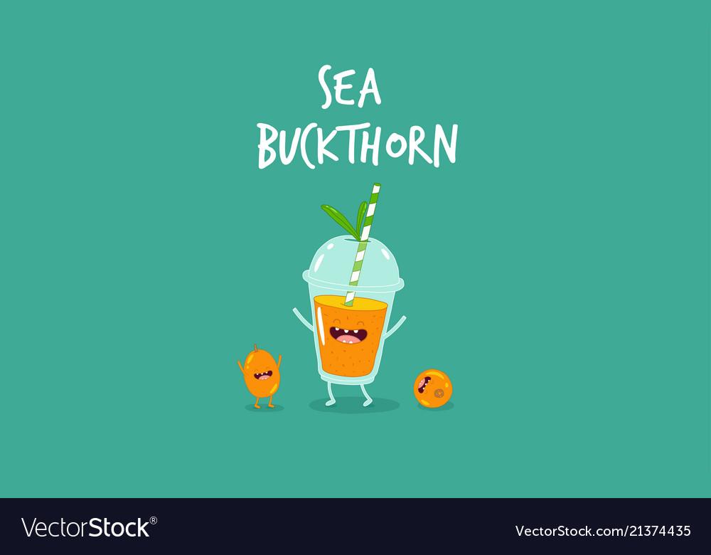 Smoothie sea buckthorn