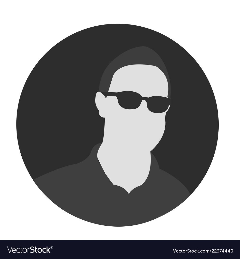 Professional avatar icon avatar man icon man