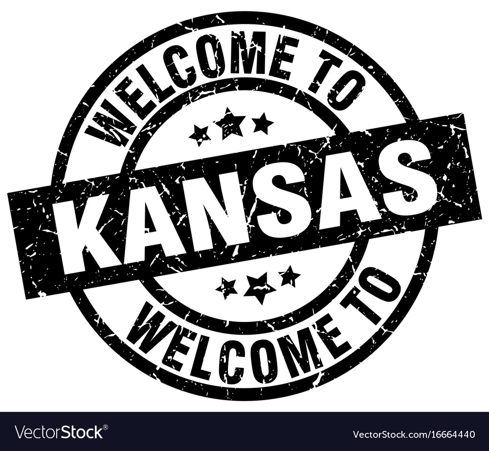 Welcome to kansas black stamp
