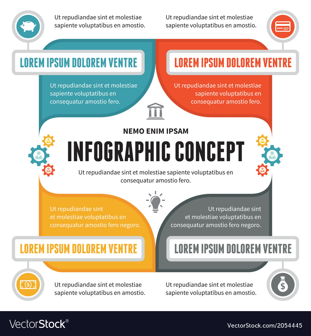 Infographic Concept - Scheme for Presentation