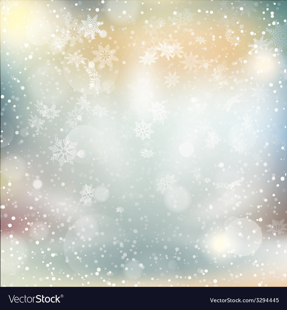 Lights on Christmas background EPS 10 vector image