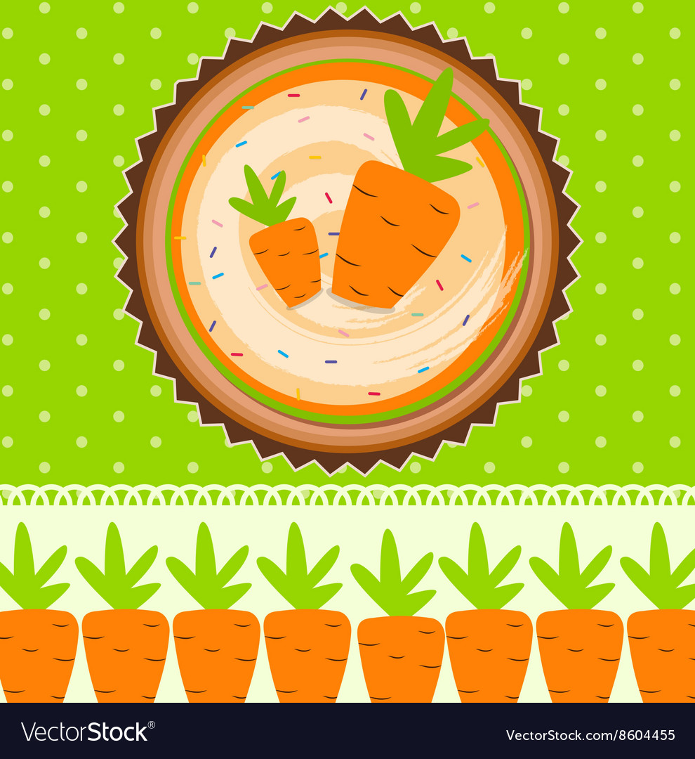 Carrot Cake Background