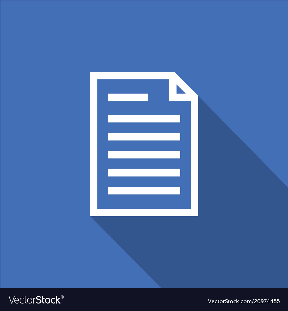 Spreadsheet document paper outline icon thin line