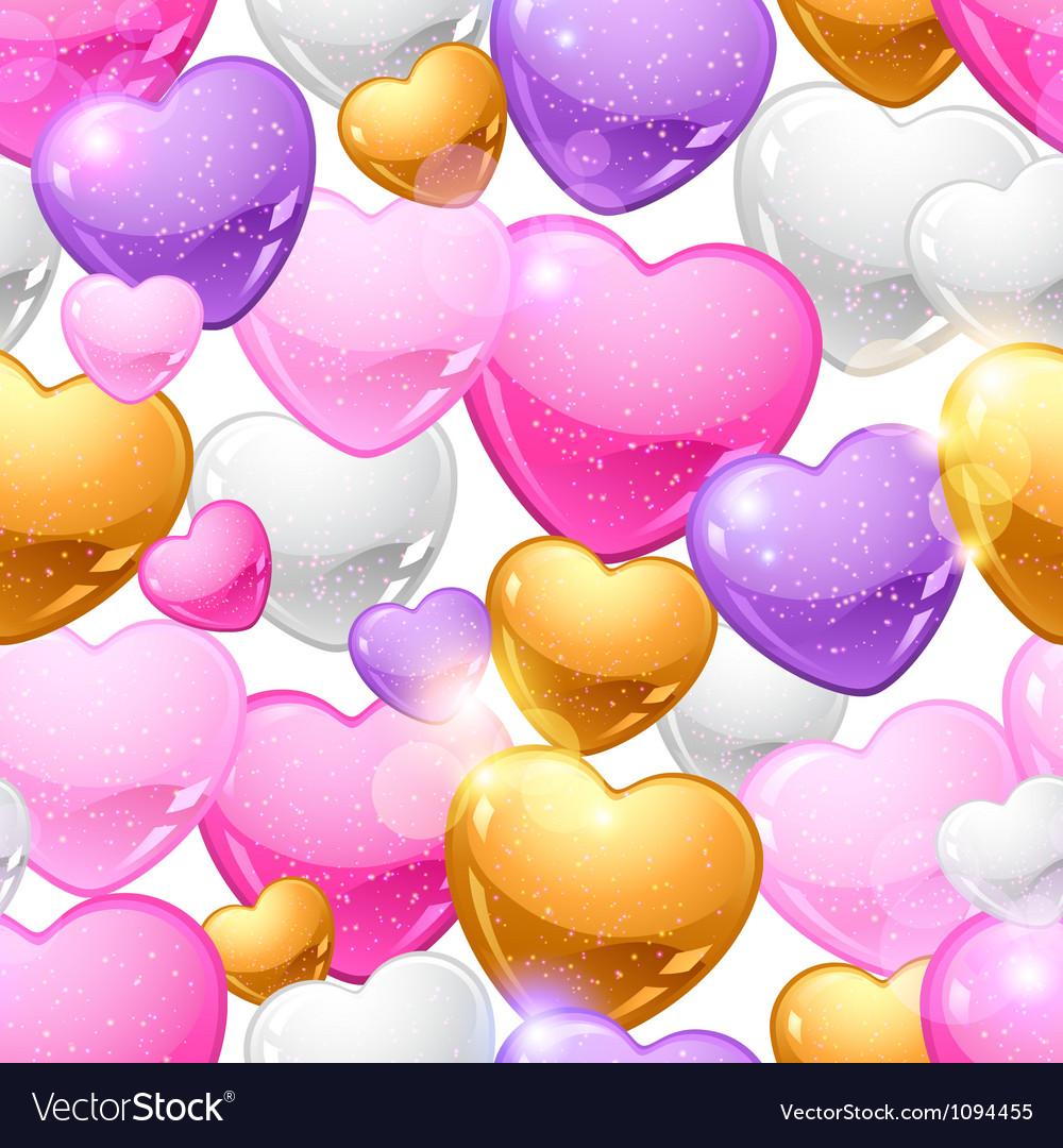 Valentines Day seamless pattern Eps 10 background