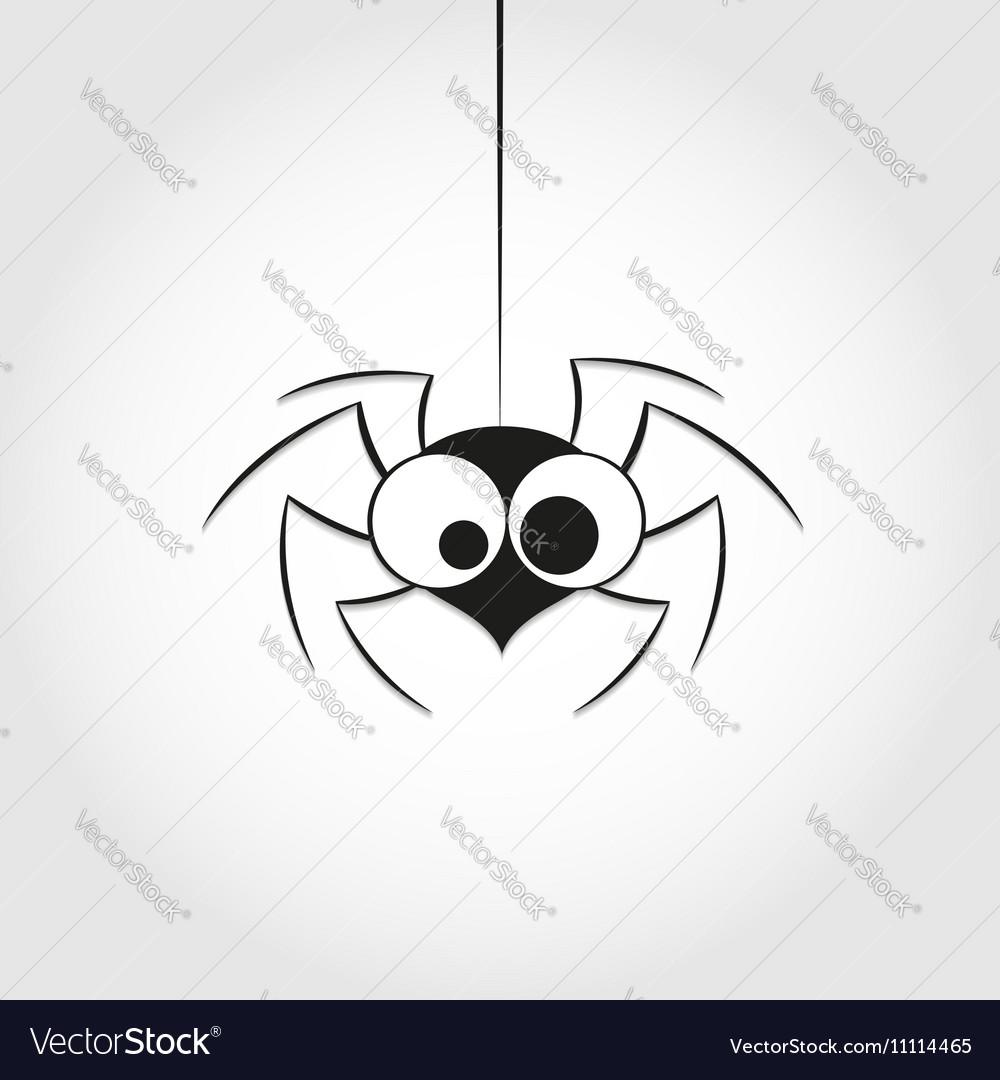 Black spider weighs