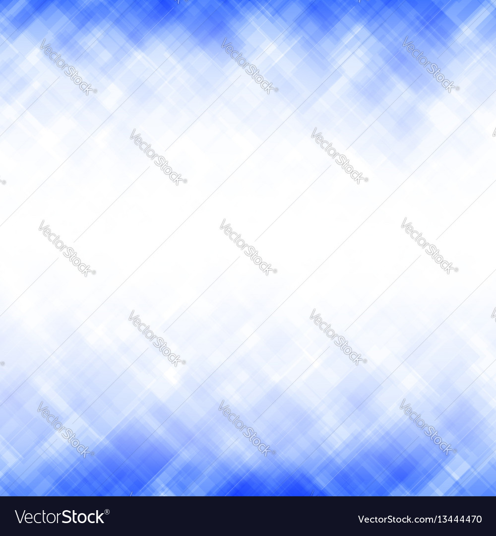Abstract blue square mosaic pattern