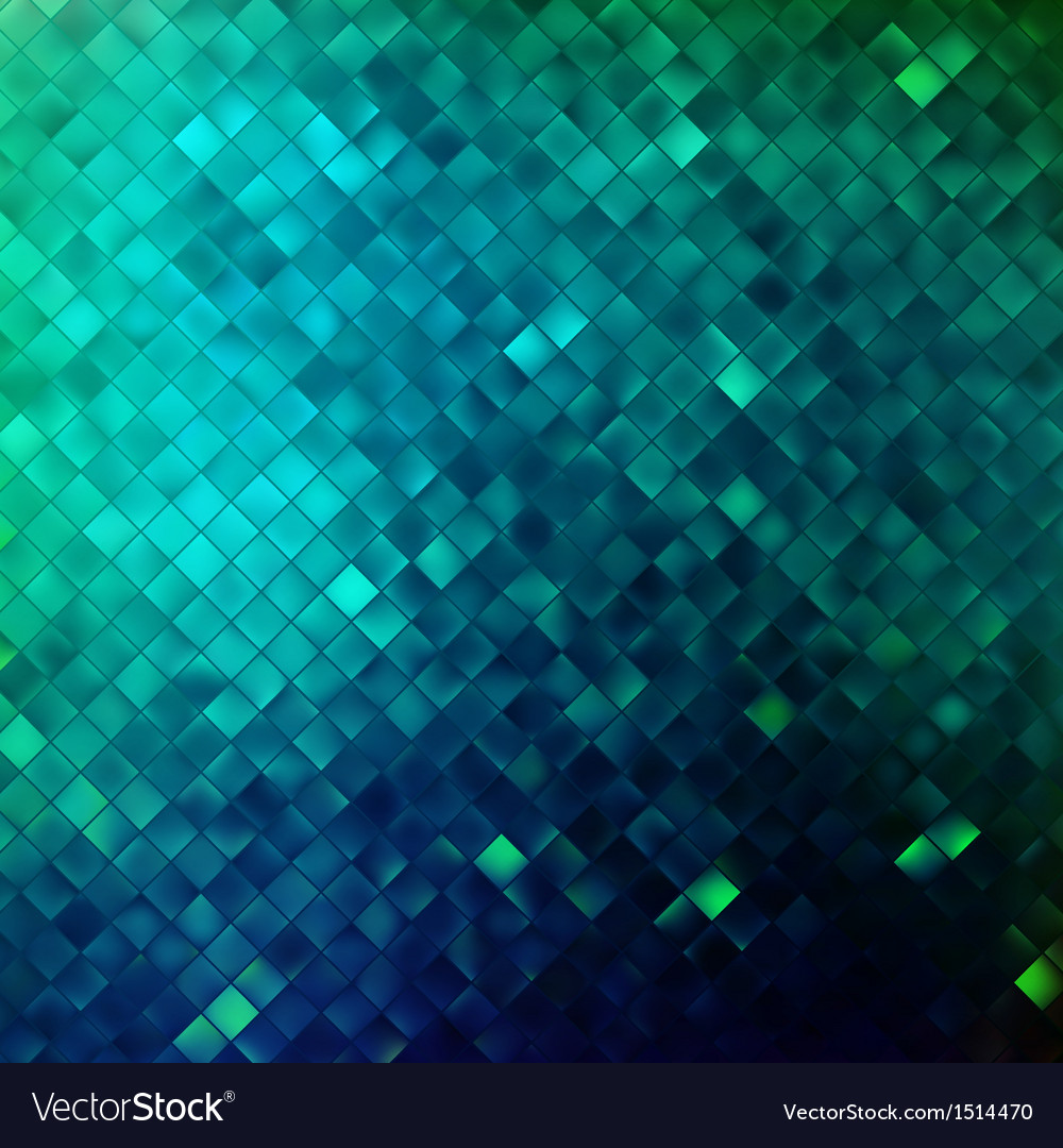 Blue glitters on a soft blurred background EPS 10
