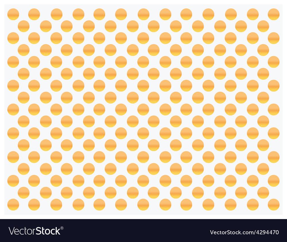 Gold dots pattern