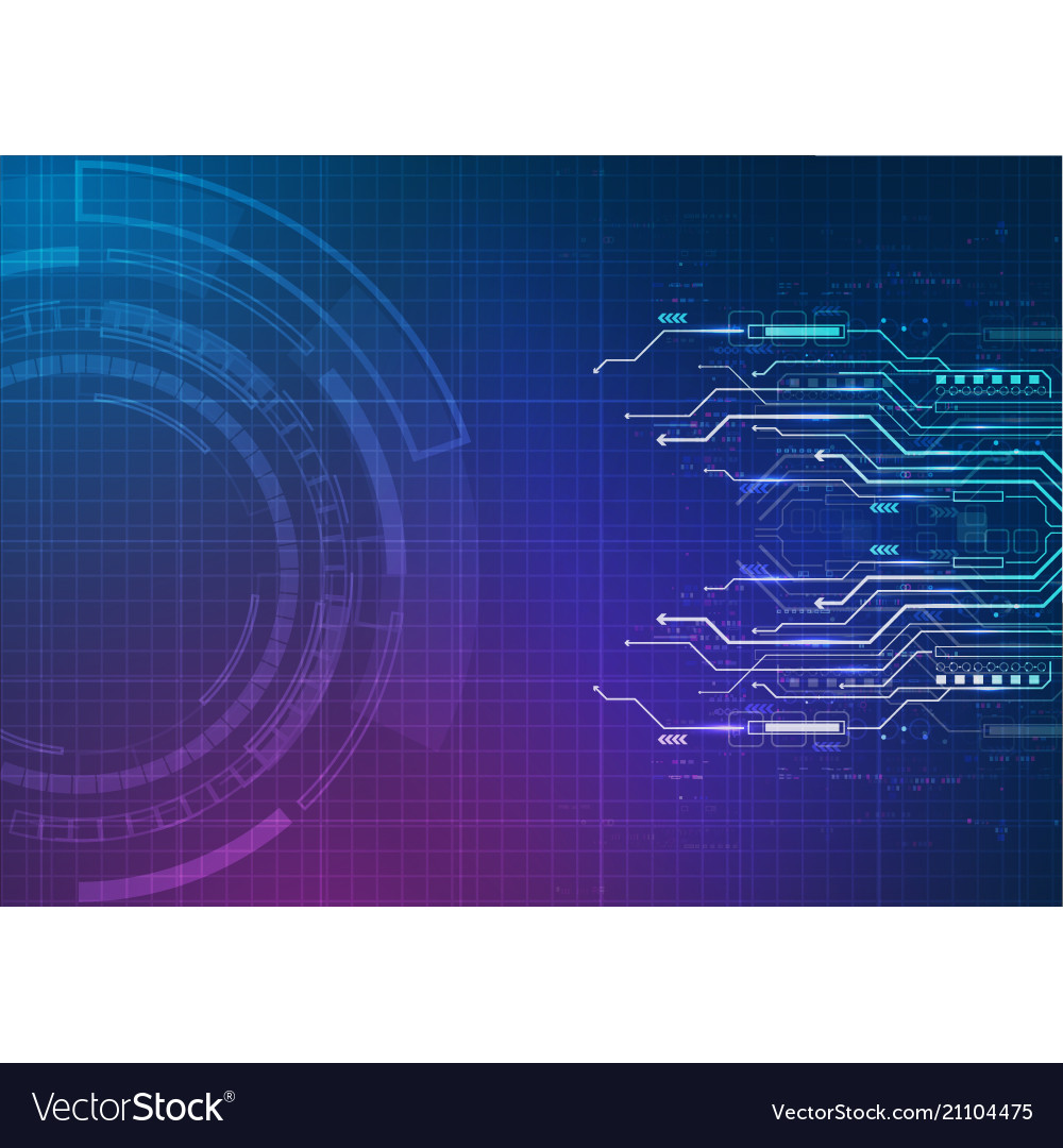 Purple blue circuit technology