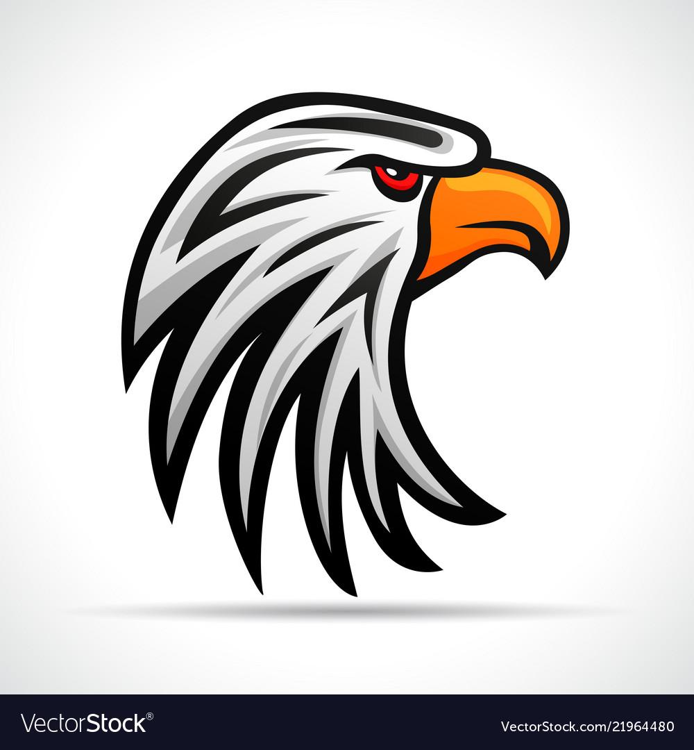 Eagle head color design