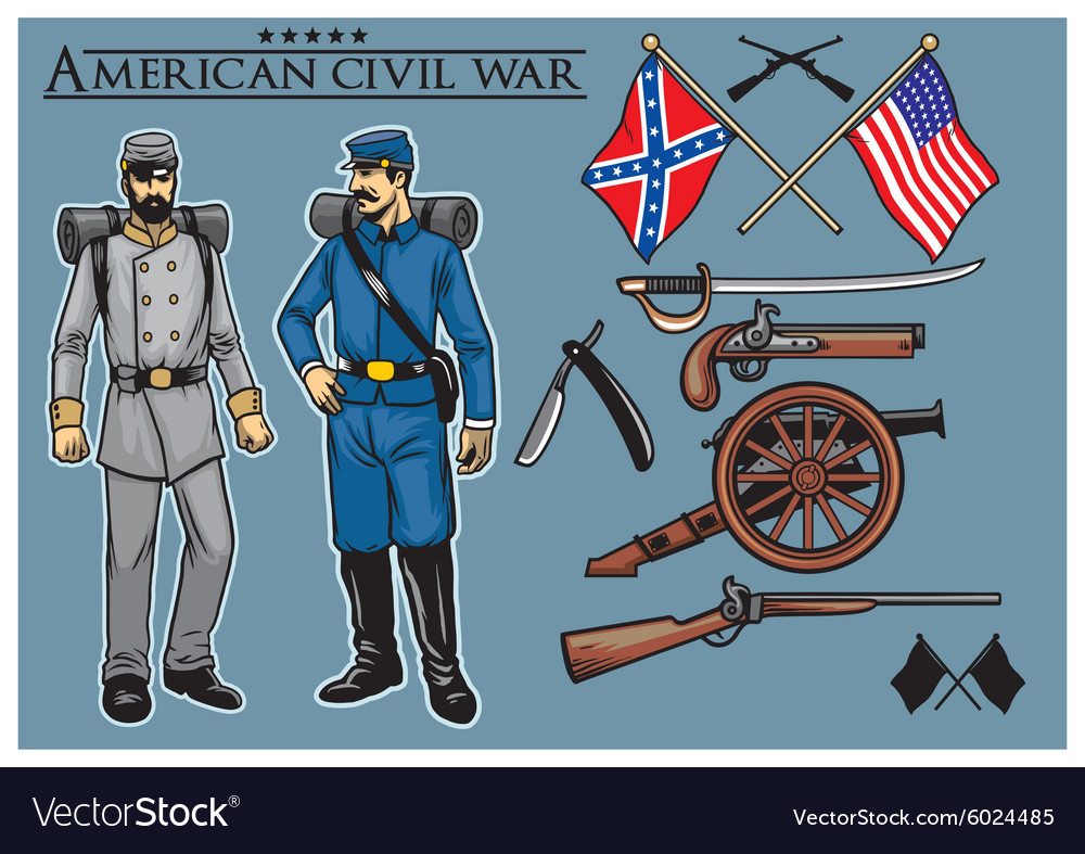 American civil war set