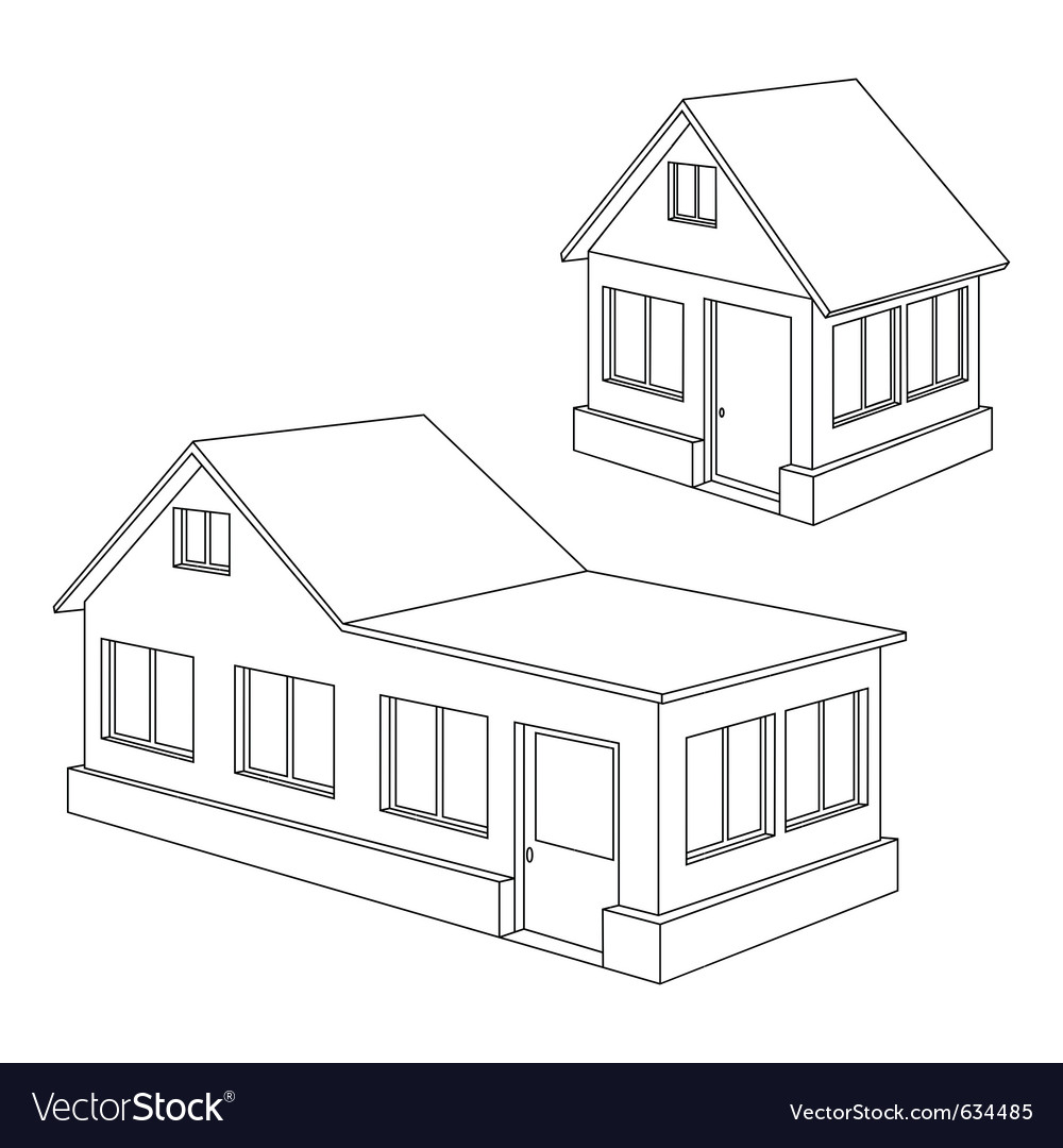Apartment house contour