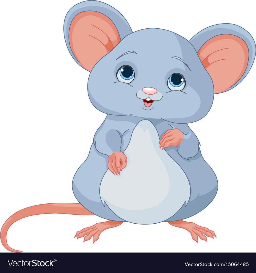 Cute mice Royalty Free Vector Image - VectorStock