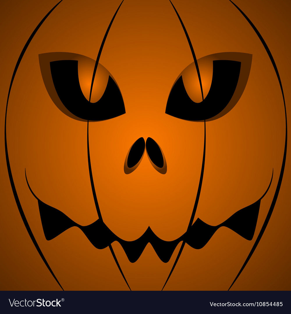 Halloween Scary Pumpkin Face Royalty Free Vector Image 399 free images of scary pumpkin. vectorstock