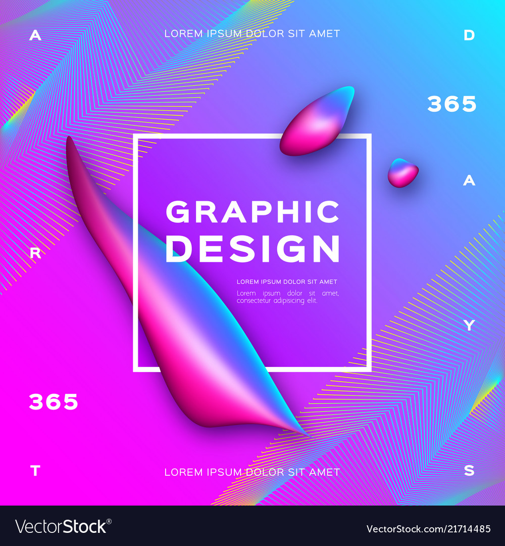 Liquid background gradient fluid shapes