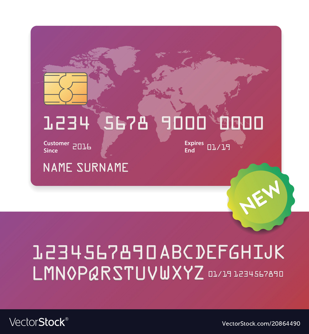 Banking business plastic card and payment
