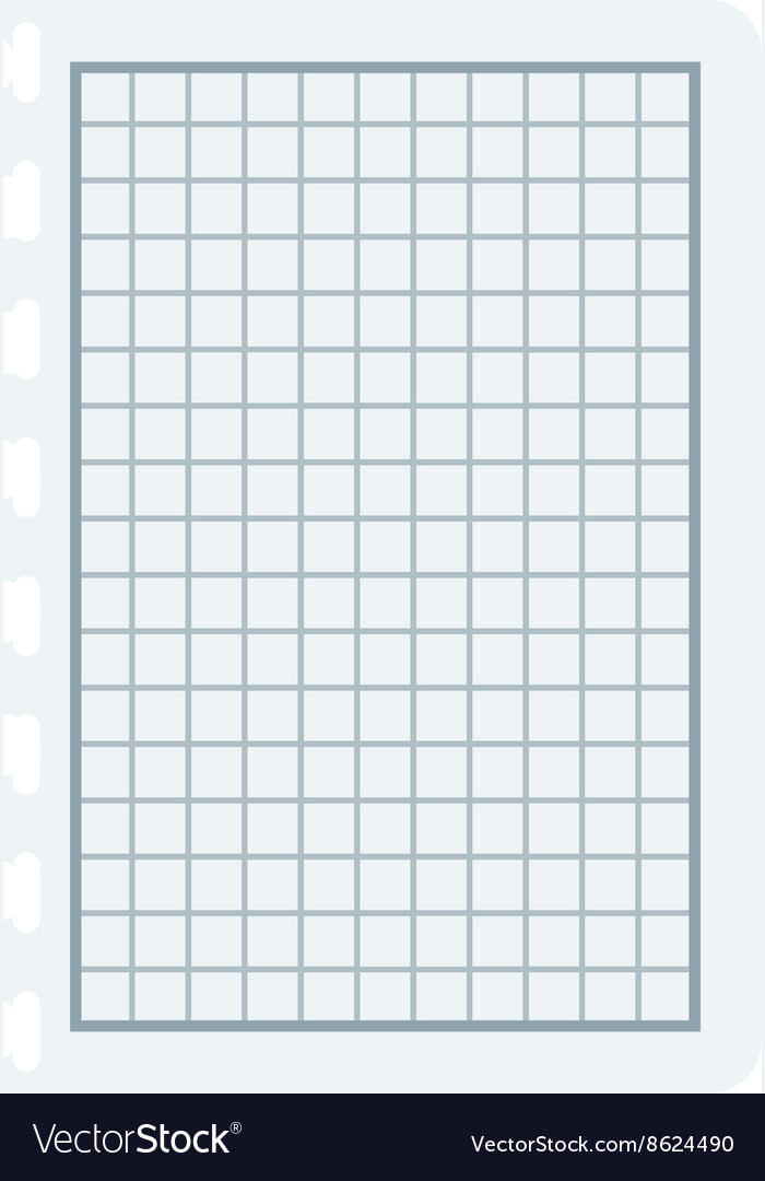 Notebook papers with lines and grid