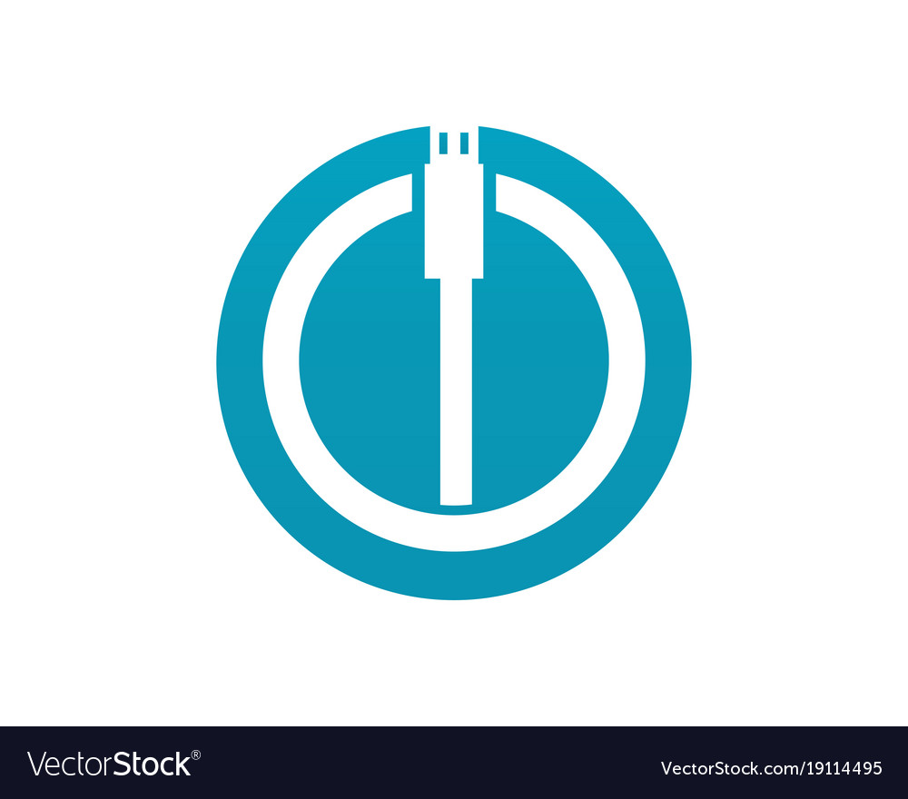 Cable wire computer and plug icons set Royalty Free Vector