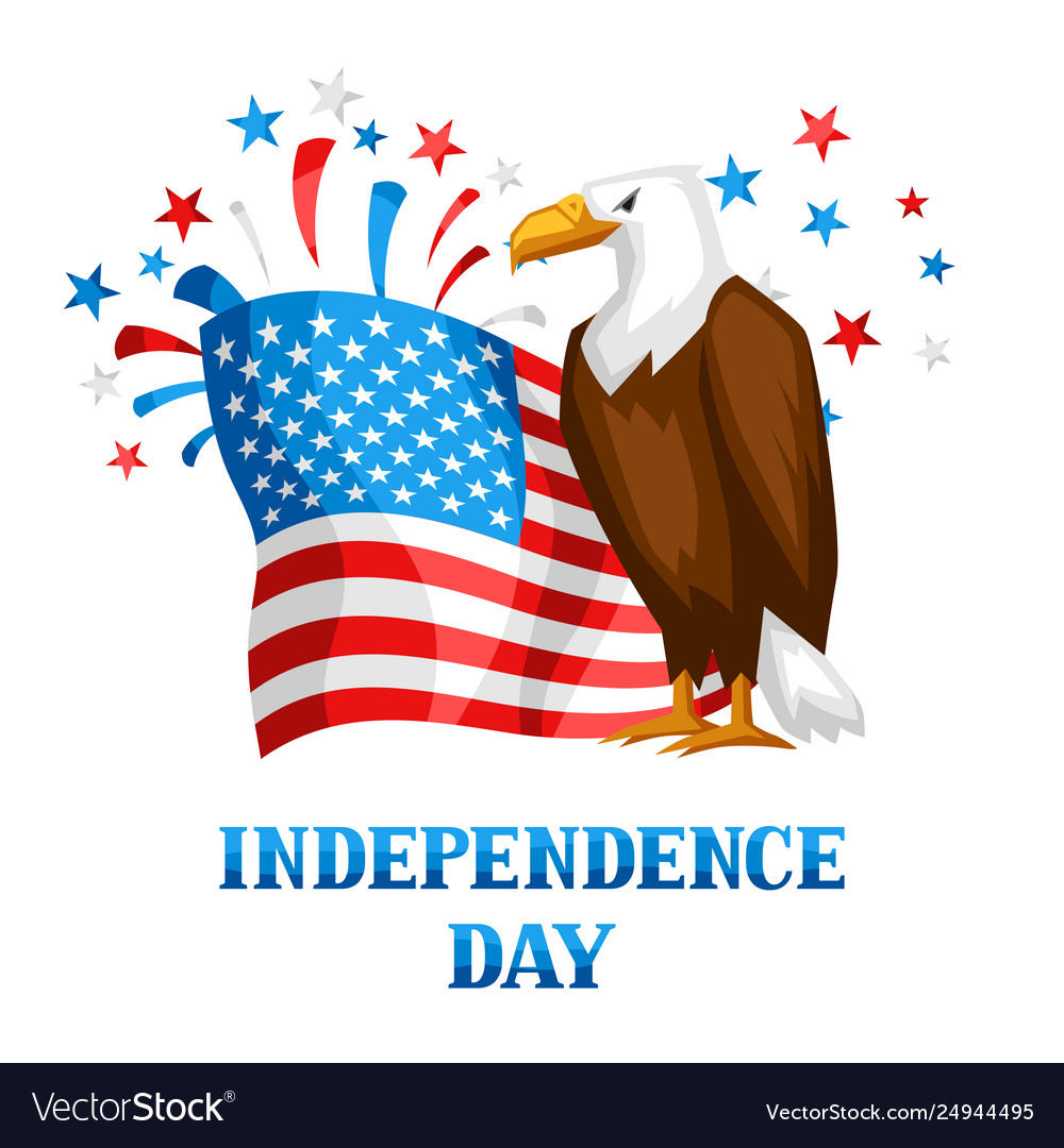 Fourth july independence day print