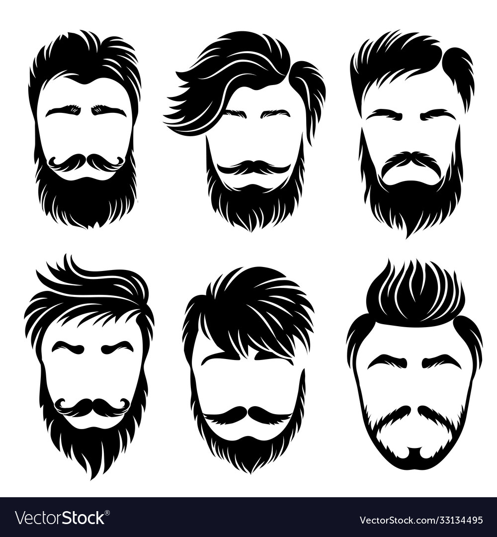 Man hair style shaved haircut and barber grooming