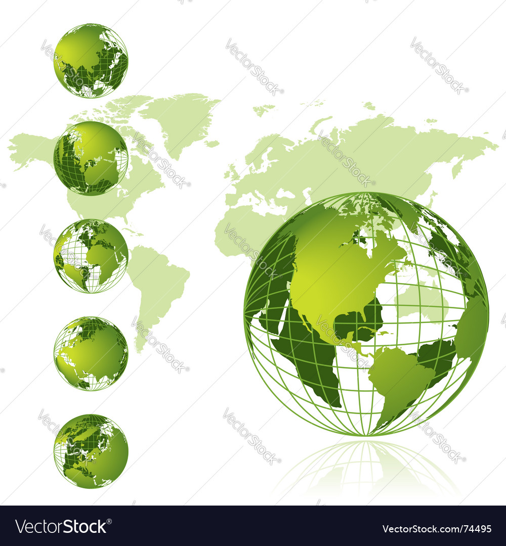 World map 3d globe series royalty free vector image world map 3d globe series vector image gumiabroncs Images